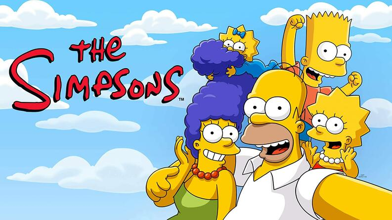 The simpsons poster serie
