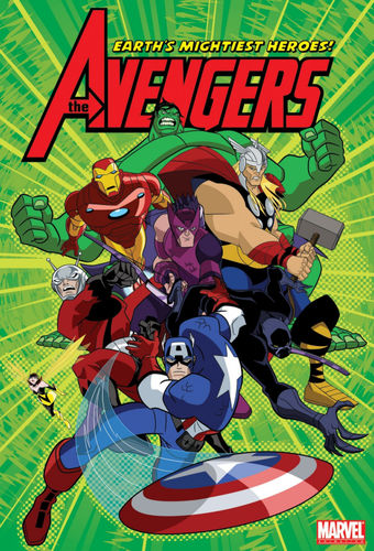 Avengers earths mightiest heroes 1